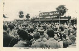 PUBLICITÉ - Carte Pub Des GALERIES BARBÈS à La Fête De L´Humanité - Publicité
