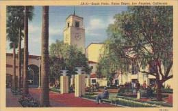 California Los Angeles South Patio Union Depot 1948