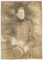 Foto/Photo S/carton. Militaria. Militaire & Sabre. - Guerre, Militaire