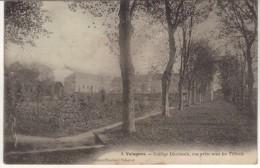 VALOGNES - 6 - Librairie Brochard Valognes - Collège Diocésain, Vue Prise Sous Les Tilleuls - Valognes