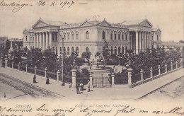 SANTIAGO / EDIFICIO DEL CONGRESO NACIONAL / CIRC 1907 - Chile
