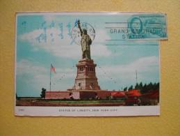 La Statue De La Liberté. - Statue Of Liberty
