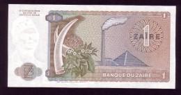 Zaire - 1 Zaire - 1981 - P19b .  UNC - Zaire