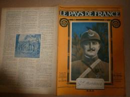 1918 LPDF: Garros Et Marchal évadés Du Camp;GROS CANON BRITISH; Gérardmer; ITALIE; Phare De La Hève; CARNET D'un POILU - Revues & Journaux