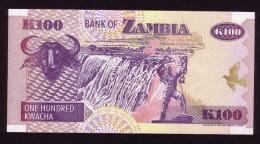 Zambia - 100 Kwacha - 1992 - P38 . UNC - Zambia