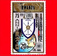 RWANDA  - 1980 - 75 Anni Di Rotary International - 20 - Rwanda