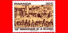 RWANDA  - 1980 - 150 Anni Del Belgio  - 30 - Rwanda