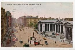 IRLANDE . DUBLIN .COLLEGE GREEN AND BANK OF IRELAND - Ref. N°2892 - - Dublin