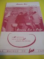 Prospectus Deux Volets / Astoria Bar /la Maison Du Bon Café / Juliette Greco/ Suisse/1952   MENU31 - Menus