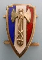 INSIGNE/FRANCISQUE - Police & Gendarmerie