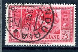 1932 - Regno -  Italia - Italy - Sass. Nr. 320 - Used (o) - (PG19092014...) - - 1900-44 Vittorio Emanuele III