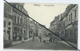 CPA - Chauny- Cachet Reserve Infanterie Munitionskolonne N° 39 Brief-Stempel - Cachets Généralité