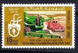 IRAK IRAQ 6th Anniv Revolution Ramadan 14th 1969 SC 488 IRAQI STAMPS SET MNH - Iraq