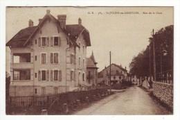 Cpa   St Julien En Genevois Rue De La Gare - Saint-Julien-en-Genevois