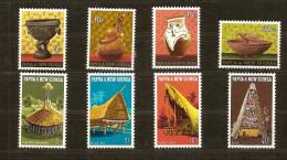 Papouasie Et Nouvelle-Guinée Papoea 1970 Yvertn° 188-95 *** MNH Cote 7,25 Euro - Papúa Nueva Guinea