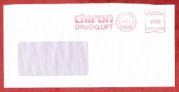 Brief, Francotyp-Postalia B81-1468, Chiron Druckluft, 80 Pfg, Tuttlingen 1987 (19125) - Marcofilia - EMA ( Maquina De Huellas A Franquear)
