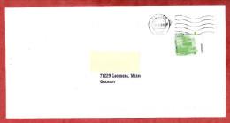 Brief, EF Doppeldeckerbus, Nach Leonberg 2009 (60230) - Covers & Documents