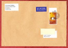 Luftpost, EF Jahr Des Hasen, Hong Kong Nach Leonberg 2011 (60231) - 1997-... Sonderverwaltungszone Der China