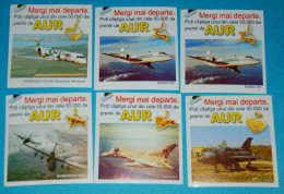 Rare Early 2000s Planes  Stickers (only 350 Sets) - Stickers