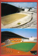 JFU-02 Bangkok Thailand  Ramkhamhaeng National Stadium Up : In Construction,down : Today.Football Calcio Fussball Soccer - Thailand