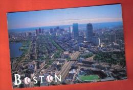 JFU-14 Boston Fenway Park. Football. Baseball.Postally Used In 1997 To Switzerland - Baseball