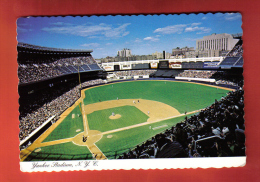 JFU-17 Yankee Stadium New York Yankees In Bronx, Football, Soccer. Baseball. Circulé Sous Enveloppe. - Baseball