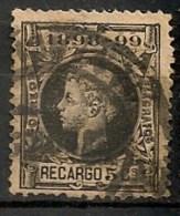 Timbres - Espagne - Impôts De Guerre - 1898-1899 - 5 Centimos - Recargo - - Impuestos De Guerra