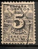 Timbres - Espagne - 1889-1931 - 5 C. - DERECHO DE ENTREGA -