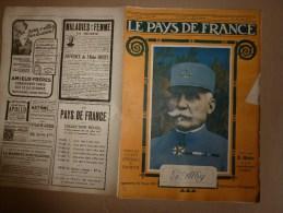 1919 LPDF:Vols Des Allemands En France Et Belgique;FANIONS LPLF;Tagoust;Djemila;Trans-pétrole-guerre;PETAIN ;Munitions? - Français