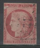 Cérès  N° 6a Avec Oblitèration Losange, Voir Etat - 1849-1850 Ceres