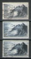 3 N° 764*/°_GRIS--GRIS BLEU--GRIS BLEU NOIR - Variedades: 1945-49 Usados