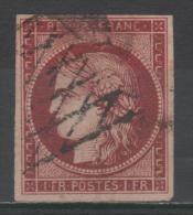 Cérès  N° 6a Avec Oblitèration Grille Sans Fin  TB - 1849-1850 Cérès