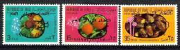 IRAQ Fruits Overprint Agricultural Census 1971 # 613 -15 # 994 MNH - Iraq