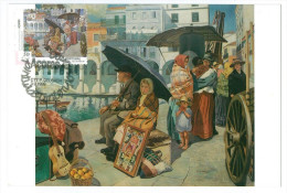 Portugal Maximum - Azores Contemporean Art - Domingos Rebelo Painting - Os Emigrantes - Ponta Delgada 1999 Açores - Andere