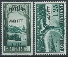 1951 TRIESTE A ALBERI MH * - ED881 - Ungebraucht