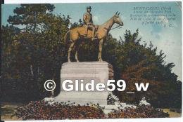 MONT-CASSEL - Statue Du Maréchal Foch - Souvenir De Reconnaissance De La Ville De Cassel Et Des Flandres - 7 Juillet 192 - Cassel