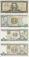 AF410 CUBA UNC PLANCHA PERFECT UNUSED LOT OF 1$. 8 DIFF TYPES. ESTADO PERFECTO: PLANCHA.