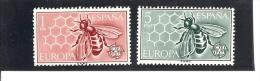 España/Spain-(MH/*) - Edifil  1448-49 - Yvert  1119-20 - 1961-70 Nuevos & Fijasellos