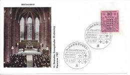 Germany (BRD) 1967  Evangelischer Kirchentag  FDC  Mi.536 - [7] Federal Republic
