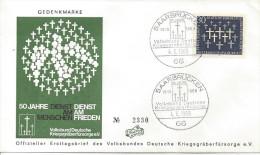 Germany (BRD) 1969  50 Jahre VDK.  FDC  Mi.586 - [7] Federal Republic