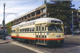 San Francisco Tramway Streecar Cablecar  St.Louis Built 1946 # 1072 - Strassenbahnen
