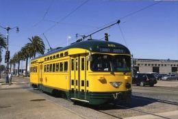 San Francisco Tramway Streecar Cablecar  St.Louis Built 1947 # 1071 - Tram