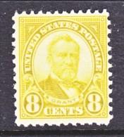U.S. 640    Perf  11 X  10 1/2    *   1926-34  Issue - United States