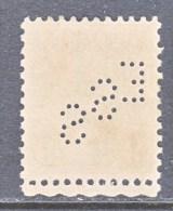 U.S. 641    Perf  11 X  10 1/2    (o)   1926-34  Issue  PERFIN - Perfins