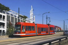 Portland Oregon Tramway Streecar Cablecar  Skoda-Inekon Tram  Built In 2001 - Tram