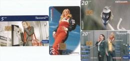 Swisscom, Swiss girls, 4x