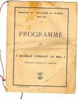 Ced , Programme , Promotion Du Centenaire De L´Algérie , 1929-1931 , école Militaire , Saint Maixent  , Frais Fr : 1.95€ - Programs