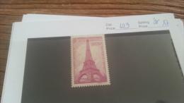 LOT 223841 TIMBRE DE FRANC NEUF** N�429 VALEUR 17 EUROS