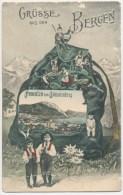Gmunden Vom Calvarienberg, Grüße Aus Den Bergen - Gmunden