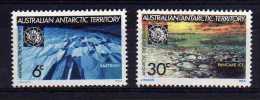 A.A.T. - 1971 - 10th Anniversary Of Antarctic Treaty - MNH - Australian Antarctic Territory (AAT)